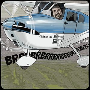 BigMike operates a Cessna 172