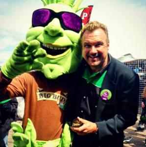 Buddy Big bud marijuana mascot