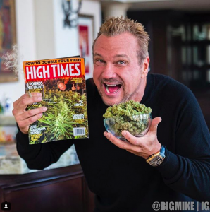 BigMike and the High Times magazine