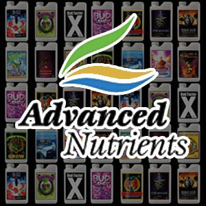 Advanced Nutrients' products and logo