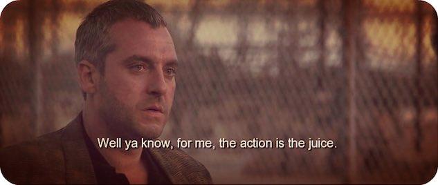 'Heat' movie quote
